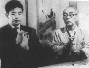 Sensei y Takamatsu